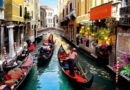 Gondola Riding in Venice